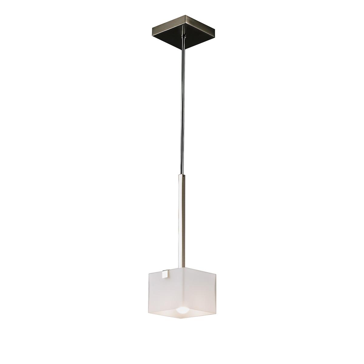 Μοντέρνο μονόφωτο Μουράνο ΚΥΒΟΙ modern Murano suspension lamp