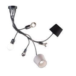 Εύκαμπτο 6φωτο πολύφωτο FLEX 6-bulb flexible chandelier