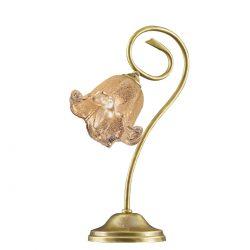 Ορειχάλκινο επιτραπέζιο φωτιστικό ΒΙΚΟΣ brass table lamp