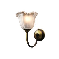 Κλασική απλίκα με κρύσταλλο Μουράνο ΝΑΞΟΣ-1 classic wall lamp with Murano crystal