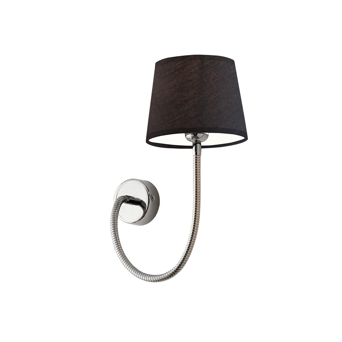 Μοντέρνα απλίκα με καπέλο FLEX modern wall lamp with shade