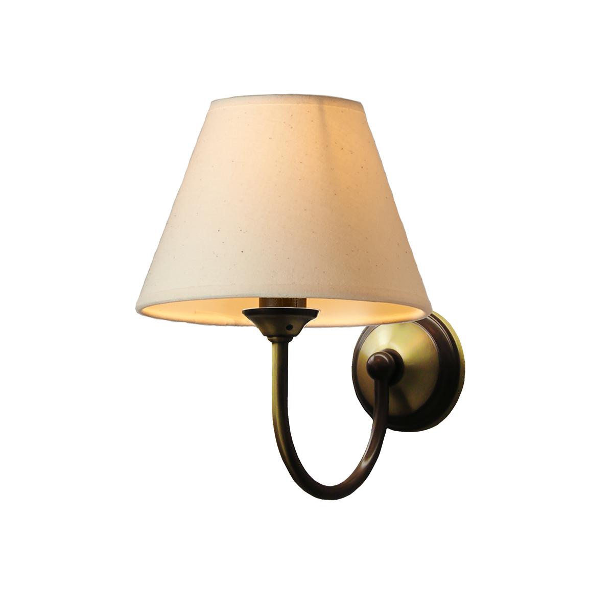 Φωτιστικό τοίχου με καπέλο ΝΑΞΟΣ-1 wall lamp with shade